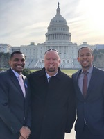 Mr. Borba goes to Washington D.C. to advocate for students.